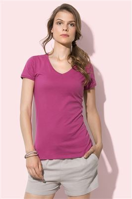 T SHIRT COLLO V COLORATE
