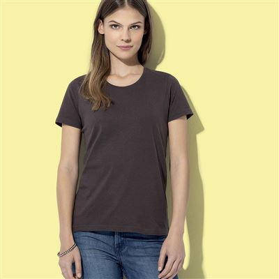 T SHIRT DONNA GIROCOLLO COLORATE